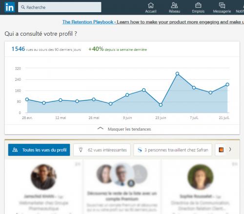Comment regarder des profils Linkedin de façon anonyme ? 4