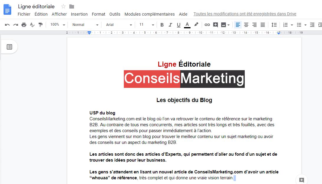 Comment et pourquoi créer une ligne éditoriale ? 1