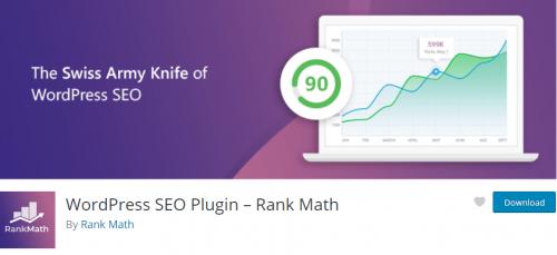 Rank Math SEO, le meilleur plugin pour améliorer le référencement d'un site Wordpress avec 8 étapes pour l'installer ! 2