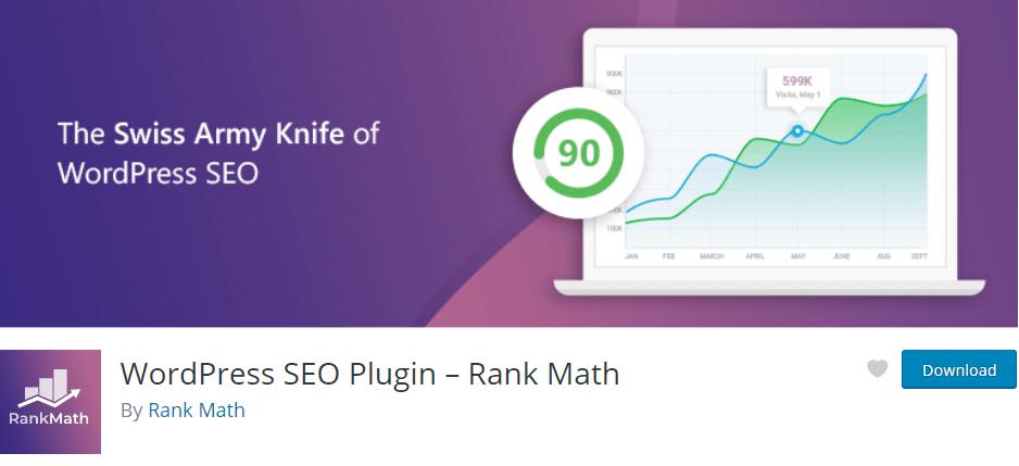 Rank Math SEO, le meilleur plugin pour améliorer le référencement d'un site Wordpress avec 8 étapes pour l'installer ! 1