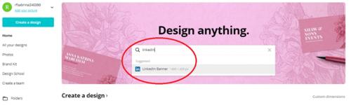 Comment créer une bannière pour votre profil LinkedIn avec Canva ? 4