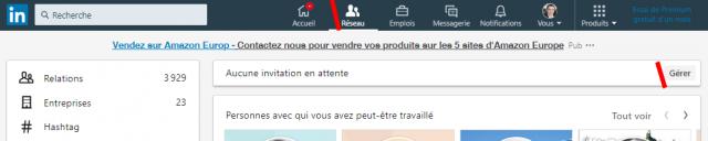 Comment supprimer des contacts LinkedIn, les bloquer ou annuler une invitation Linkedin ? 2