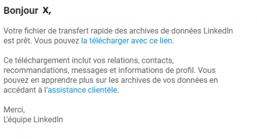 exporter ses contacts linkedin 7