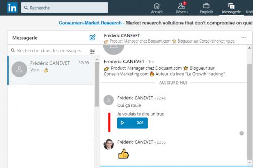 Comment et pourquoi utiliser les messages vocaux LinkedIn avec l'App Mobile ? 8