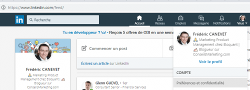 Comment supprimer des contacts LinkedIn, les bloquer ou annuler une invitation Linkedin ? 1