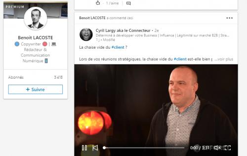 5 astuces simples de Social Selling sur Linkedin - Interview Benoit Lacoste 2
