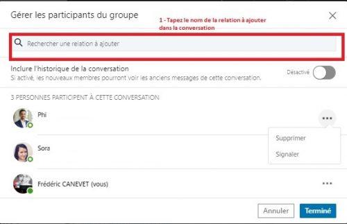 Comment envoyer un message groupé à une sélection de vos contacts LinkedIn ? - Messages Groupés sur Linkedin 5