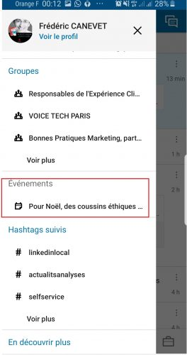 Comment participer ou créer un événement Linkedin ? 5
