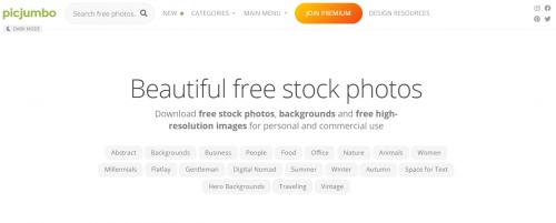 12 sites pour trouver des images libres de droits pour votre site et les réseaux sociaux 11