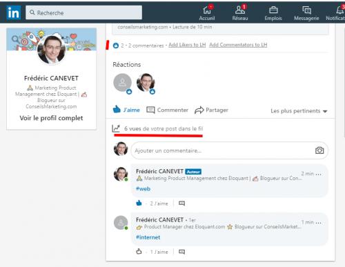Comment inviter ses contacts à suivre votre page LinkedIn ? 9