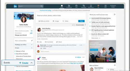 Comment participer ou créer un événement Linkedin ? 2