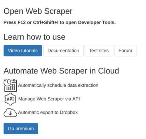 Comment faire du Web Scraping : cas pratique avec la récupération des avis clients sur Trustpilot avec webscraper.io 5