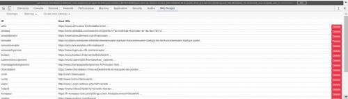 Comment faire du Web Scraping : cas pratique avec la récupération des avis clients sur Trustpilot avec webscraper.io 13