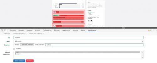 Comment faire du Web Scraping : cas pratique avec la récupération des avis clients sur Trustpilot avec webscraper.io 57