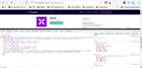 Comment faire du Web Scraping : cas pratique avec la récupération des avis clients sur Trustpilot avec webscraper.io 12