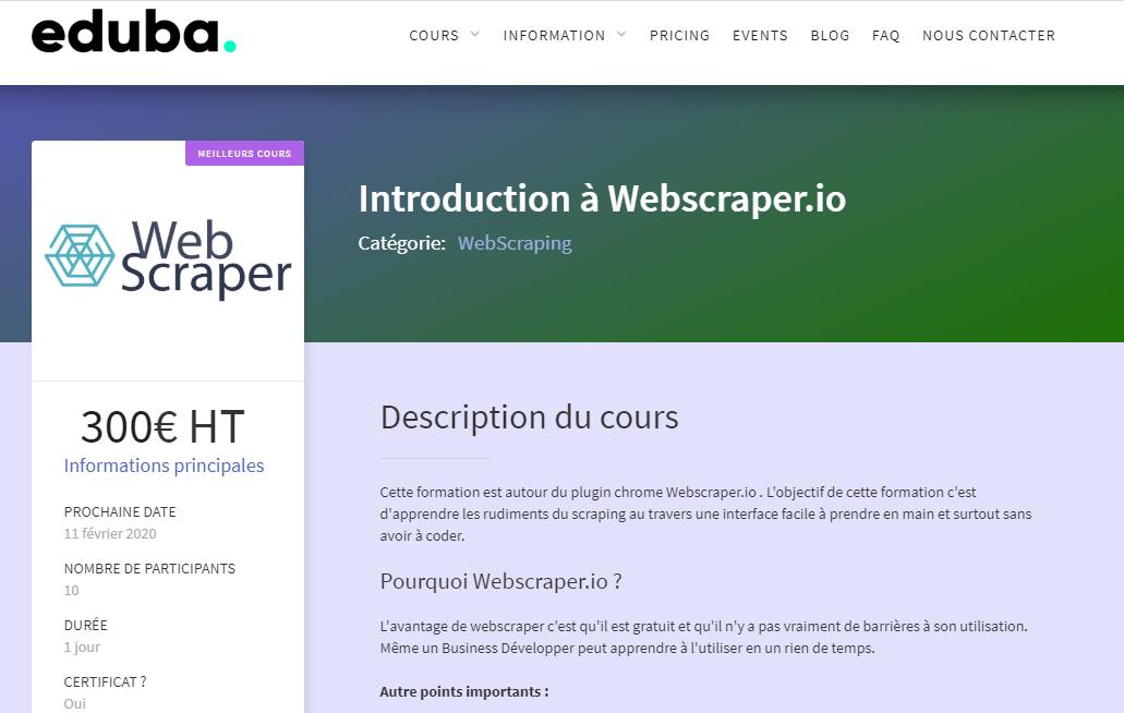 Comment faire du Web Scraping : cas pratique avec la récupération des avis clients sur Trustpilot avec webscraper.io 24
