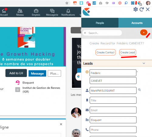 Comment synchroniser Linkedin et Salesforce ? 9