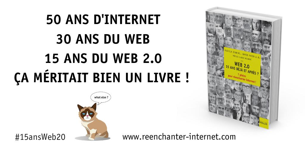 Comment survivre aux révolutions du web ? Je vous donne mon avis !  #15ansWeb20 1