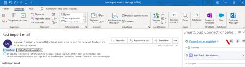 Comment rattacher un email à une campagne marketing Salesforce ou à toutes autres entités ? 5