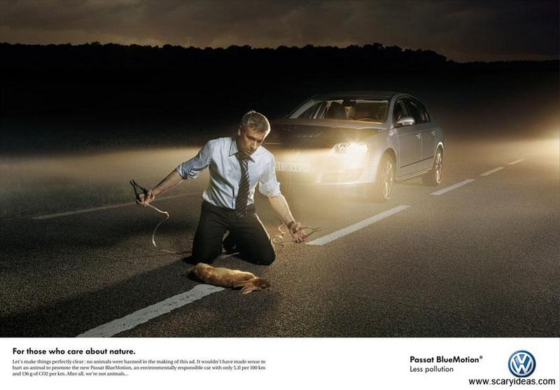 Publicité et marketing, créativité publicitaire, exemples de publicités