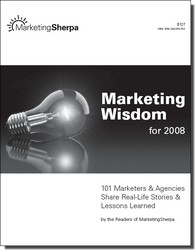 Livre gratuit de marketing : Marketing Wisdom 2008