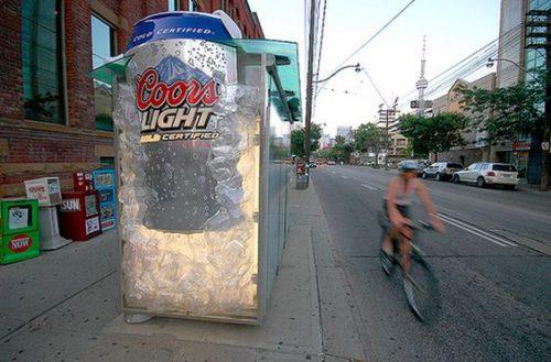 Plus de 100 pubs de Street Marketing créatives à prendre en exemple ! 72