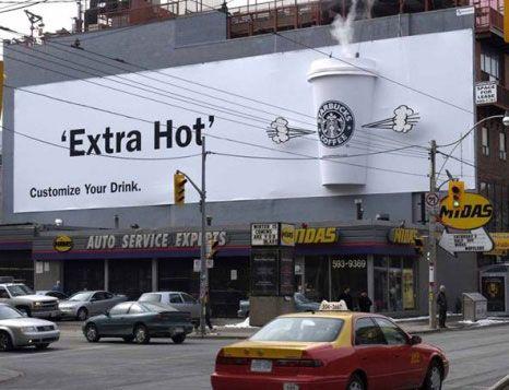 Plus de 100 pubs de Street Marketing créatives à prendre en exemple ! 84
