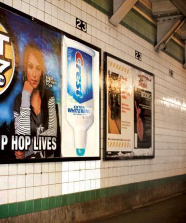 Plus de 100 pubs de Street Marketing créatives à prendre en exemple ! 41