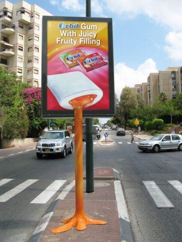 Plus de 100 pubs de Street Marketing créatives à prendre en exemple ! 91