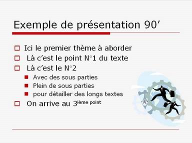 Modèle PPT has been
