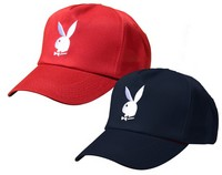 2 casquettes playboy