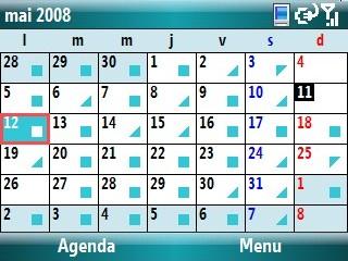 agendas smartphone