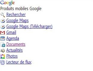 service google mobiles