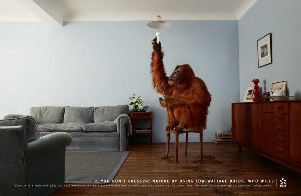 Plus de 100 publicités créatives à voir absolument ! 99