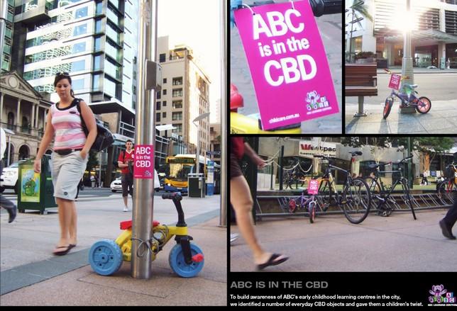 pub street marketing bébé