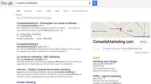 conseils en marketing