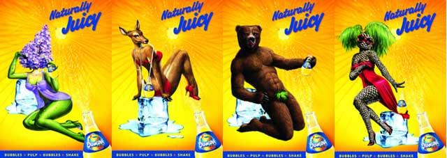 publicité orangina porno chic