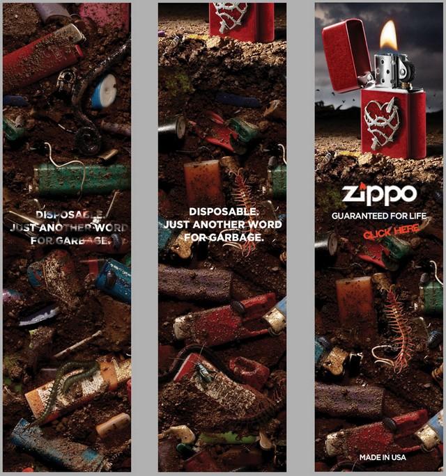 zippo greenwashing