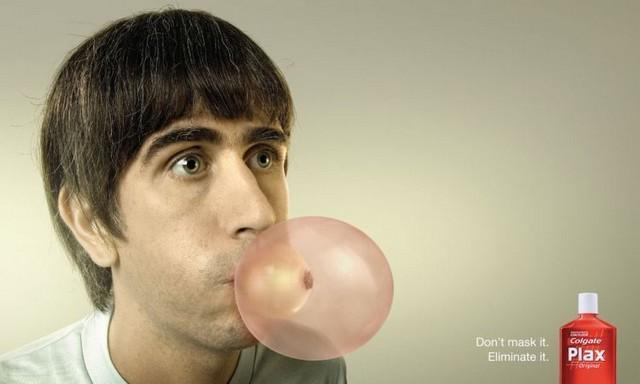 pub anti odeur bucale