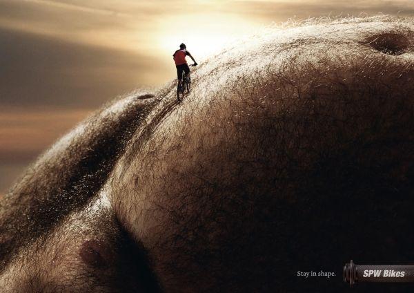 pub pour vélo