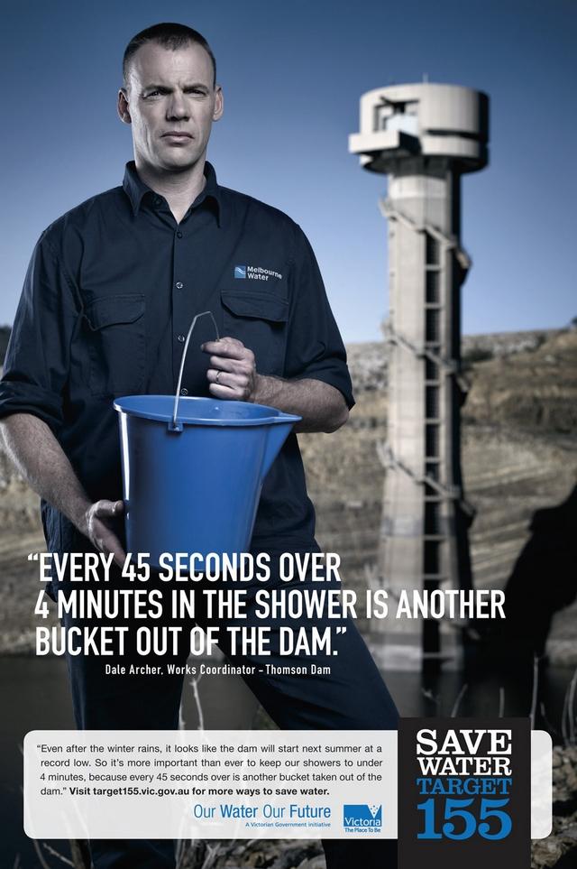 pub pour économie d'eau