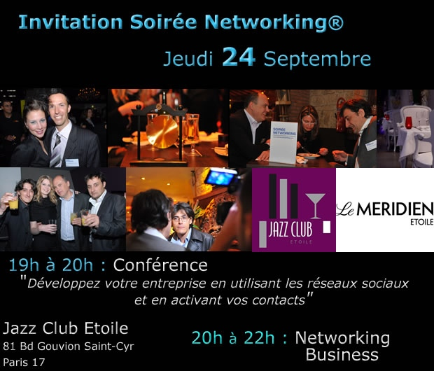 conférence networking