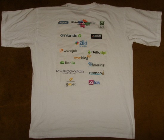 tshirt web2connect