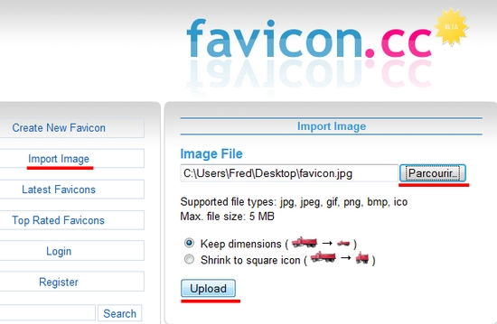 favicon blog wordpress