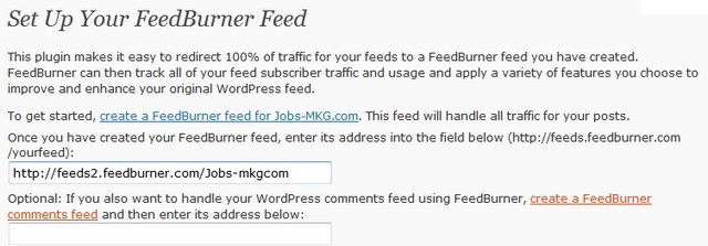 flux rss wordpress