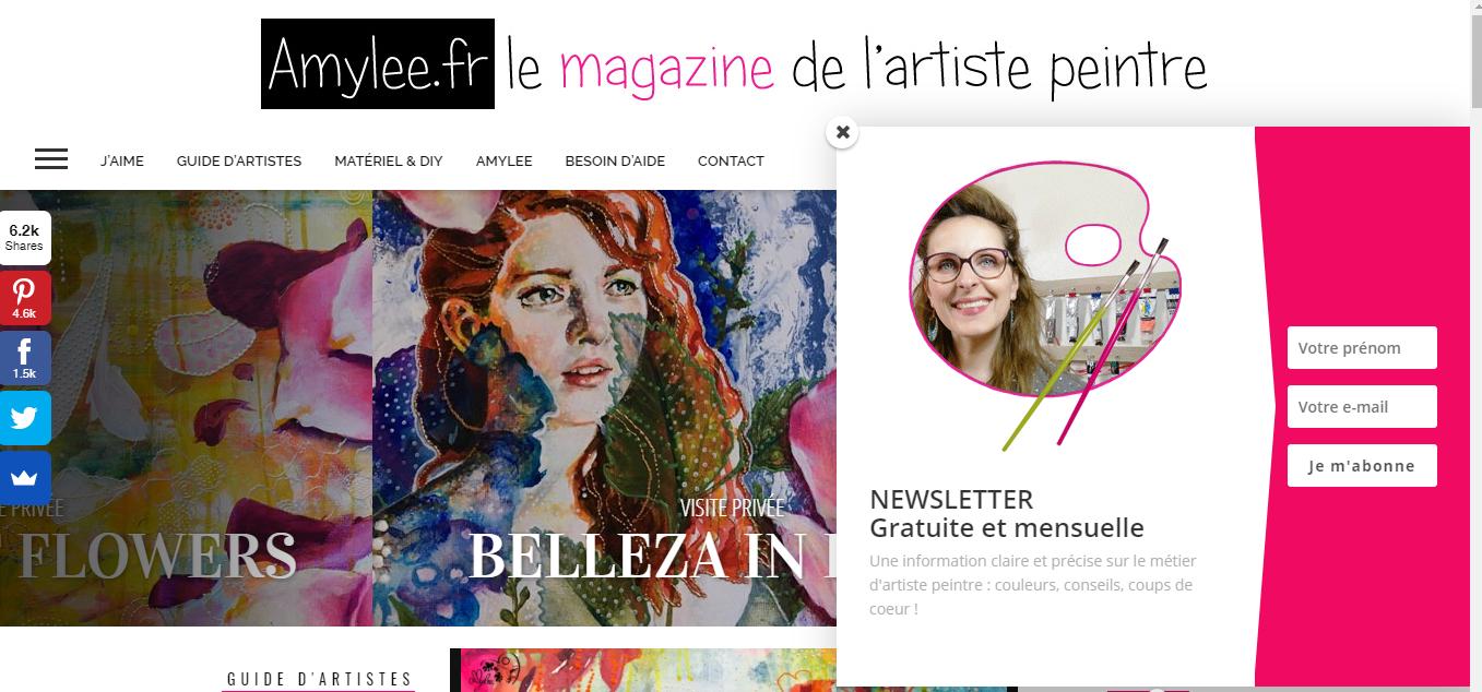 Site Des Artistes Peintres comment se faire connaitre sur le web quand on est artiste