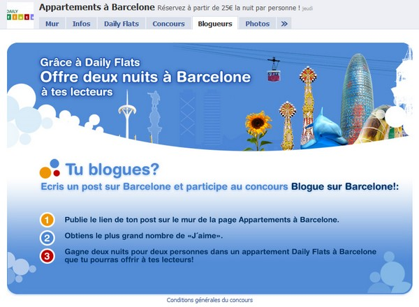 voyage a barcelone blogueur