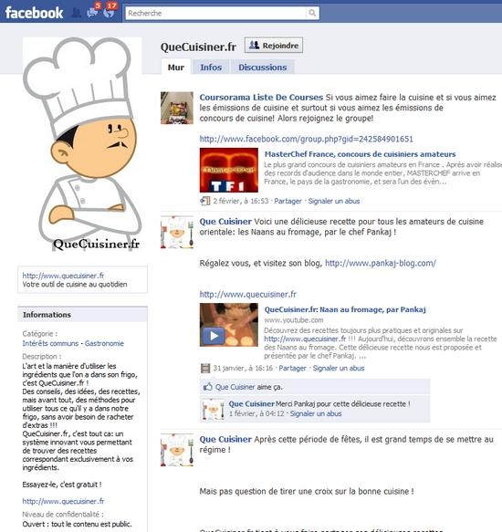 profil que cuisiner