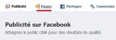 Comment créer une page Fan Facebook ? 2