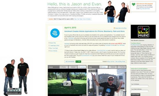 La pub du jour : Rajoutez de l'interactivité sur votre site Web ! 2